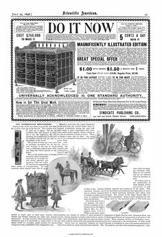 Scientific American Volume 75 Number 04 (July 1... Scientific American, July 1, Numbers, Author, Writers, Numeracy