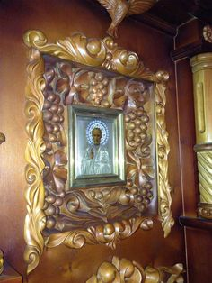 Tsar Nikolai took the icon with him to the Ipatiev's House and presented this icon to a nun who brought food and presents to him and his children. This icon is kept in the Monastery in Ganina Yama where the bodies of Nikolai and his family were found ~