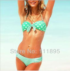 bikini for teens  | cheap-teens-bikini-set-swimwear-2013-new-fashion-sexy-dot-dolly-bikini ...