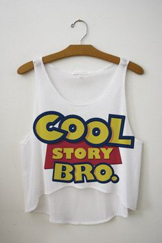 Cool Story Bro Crop Top | fresh-tops.com  http://fresh-tops.com/collections/smart-collection/products/cool-story-bro-crop-top