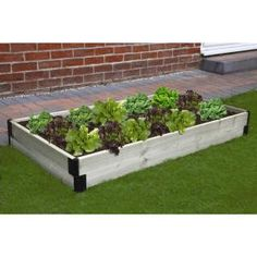 Bosmere Raised Garden Bed Connection Kit, Black Upgrade the look of your outdoor living area by choo