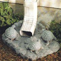 Turtle Splash Block