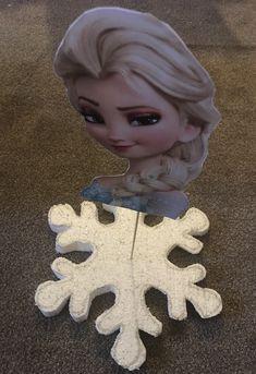 Elsa party decoration #party #frozen #snowflakes #handmade #decoration