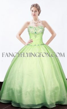 d87bcc75e12 fancyflyingfox.com Offers High Quality Pretty Sage Green Sweetheart Quinceanera  Dress 2016