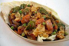 Stir Fried Vegetables in Schezwan Sauce