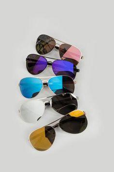 Camila Mirrored Aviator Sunglasses