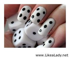 Cool and easy nail idea