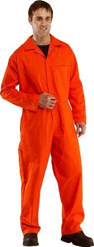 Cheap Orange Flame Retardant Overalls Welding Welder Boilersuit Coverall (44 Chest) deals week