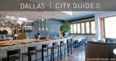 Dallas - Texas http://www.restylesource.com/inspiration/City-Guides/Texas/Dallas/222/