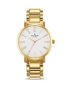 kate spade new york Large Roman Numeral Gramercy Watch, 38mm