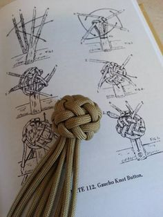 Gaucho Knot Button -- knotted by Dman --- on https://www.facebook.com/photo.php?fbid=391901020919326=gm.147482942111383=1_count=1=nf