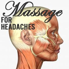 Simple massage tips for tension headaches