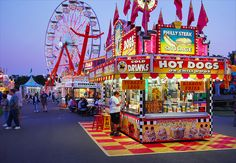 The Northern Wisconsin State Fair is open every July in Chippewa Falls! Photo courtesy of Chippewa Falls Area Chamber, via Flickr