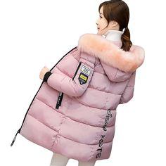 2017 Coat Parkas Women Winter Jackets Winter Long Jackets Women Warm Female Thickening Warm Parkas 3XL Hooded Outerwears YP0358 #Affiliate