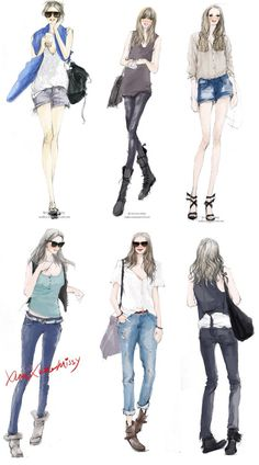 #Fashionsketches
