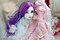 """MH Monster high doll repaint Spectra and viperine """"The secret"""" by Fairy Tale, #Monsterhigh #doll #spectra #viperine #custom #ooak #repaint #custom_mh"""
