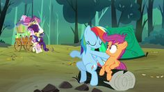 "Rainbow Dash ""Then You and I"""