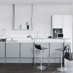 Poggenpohl Kitchens   Searle & Taylor Kitchens in Hampshire and London Modern Kitchen Cabinets, Kitchen Cabinet Design, Kitchen Ideas, Hampshire, Kitchens, London, Contemporary, Table, Furniture