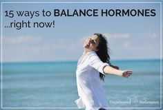 15 tips to balance hormones naturally... one of them is make some magnesium oil to help balance hormones