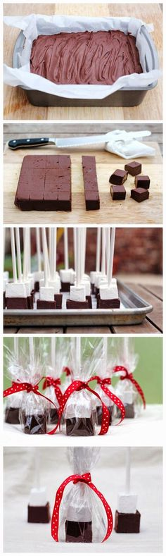 Need a creamy chocolate fix or gift? Swirl these blocks into a mug of hot milk and enjoy luscious hot chocolate