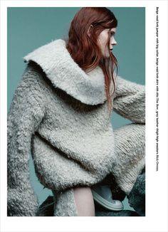 Irina Kravchenko Bon Magazine Autumn 2014/Winter 2015