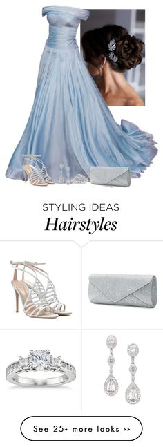 """""""Untitled #2916"""" by natalyasidunova on Polyvore featuring Eliot Danori, Blue Nile, Gianvito Rossi and Mascara"""