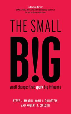 Når det handler om at påvirke andres adfærd, er det ofte den mindste ændring, der skaber den største forskel. Det hævder tre sværvægtere inden for marketing og nudging i en ny bog om overtalelse. Læs med, og få tip til de helt små ting, du som afsender kan ændre på for at skabe den store forskel.