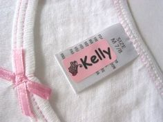 Fun Stick On Clothing Labels 2 GREAT FOR  preschool and such