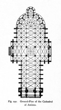 Amiens Cathedral: plan | Flickr - Photo Sharing!