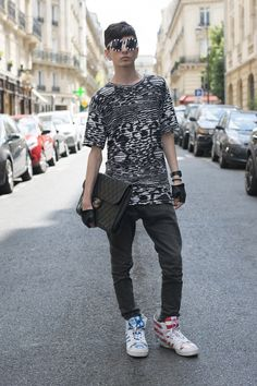 Street Style: Paris Men's Fashion Week  - ELLE.com