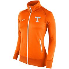 Tennessee Volunteers Nike Women's Stadium Classic Full Zip Track Jacket - Tennessee Orange