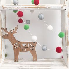 Fully getting into the festive spirit over here (so much so I have double Christmas posted today - send the Insta police!) Find our Silver Sleigh Bells Garland online now! Under The Mistletoe, Christmas Post, Felt Ball, Kids House, Garland, Christmas Decorations, Festive, Silver, Police