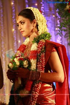 south indian bride (mamta) http://www.pinterest.com/nricouple/ Follow our wedding boards for great ideas!
