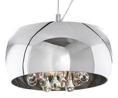 Lámpara de techo Crystal - plateado