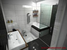 black and white small bathroom decor  Decorating A Small Bathroom