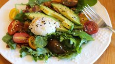 Starting one's day with salad may seem like the opposite of what you want to do, but hear me out. I too was once very skeptical of the breakfast salad, but have since seen the way and am out to preach the good news. Breakfast salads are not only filling without being heavy, but they're delicious, easy to throw together, and they help prevent food waste (more on that in a moment).