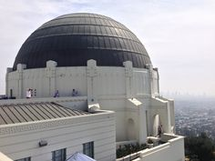 At the Griffith Observatory. LA Itineraries at Daytripper365.com