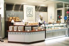 Tokyo Milk Cheese Factory at Haneda Airport by Specialnormal, Tokyo store design