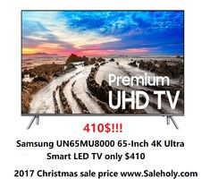 Buy Samsung Electronics UN65MU8000 65-Inch 4K Ultra HD Smart LED TV - 410USD