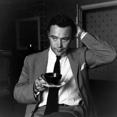 Jack Lemmon fotografiado por Ronald Dumont, Londres, 1956