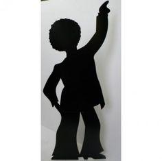 Male Disco Dancer Cutout   Disco Party Decoration Ideas