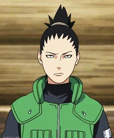 While I was waiting for the gif to load, I tried guessing what he was doing, and I was like well it's Shikamaru so he's prolly either sighing or face palming. :) I love Shikamaru!