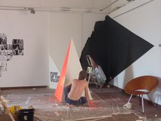 """the making of """"Wanna be art show"""" #bloopfestival"""