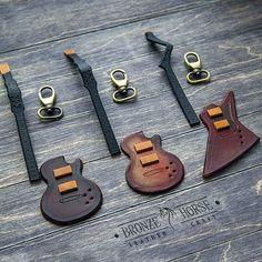 Очередные подвесы в виде гитарок ждут окончательной сборки.  #BronzeHorse, #подарок, #медиатор, #гитара, #handmade, #handcraft, #ручнаяработа, #leather, #кожа , #натуральнаякожа,  #изделияизкожи,  #изкожи,  #leathercraft, #leatherwork, #браслет,  #бумажник,  #кошелек,  #кардхолдер,  #bracelet ,  #wallet , #leathercuff , 4  #cardholder, #браслетдлячасов, #подвес, #брелок