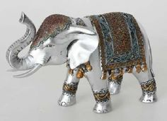 tecnica de pintura en elefante indu - Buscar con Google Elephant Parade, Elephant Theme, Indian Elephant, Elephant Art, Baby Elephant, Elefante Hindu, Thali Decoration Ideas, Bedroom Themes, Sculpture Art