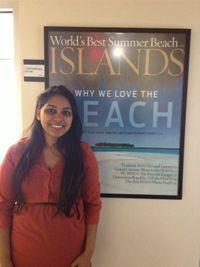 Ruqayyah Ali interned at Bonnier Corporation: Islands Magazine.
