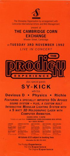 Thanks to GL0WKiD : http://theprodigyfanboy.com/forum/general-prodigy-talk/prodigy-flyers-posters/