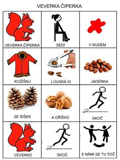Pro Šíšu: Básničky i pro autíky Playing Cards, Language, Activities, Education, Games, Logos, Czech Republic, European Countries, Autism