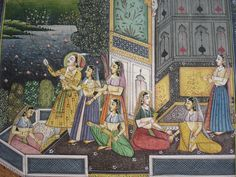 indian miniature | the birth of indian miniature paintings can be traced back to 6th and ...
