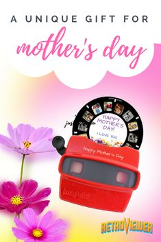 Design a custom gift for your mom this Mother's Day. Use your own photos and get a custom reel to share as a special gift. #photo #photogifts #mothersday #uniquegifts
